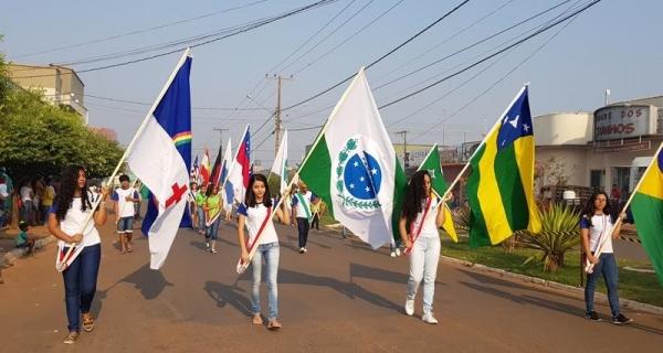DESFILE CÍVICO EM ARIPUANÃ