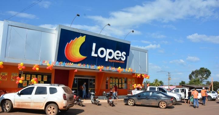 Contagem regressiva para o primeiro sorteio da promoção 'Arraiá da Copa' do Lopes Supermercado em Aripuanã