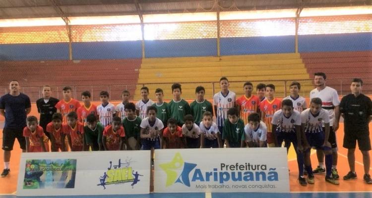 Secretaria Adjunta de Esporte realiza 1ª Edição da Taça Aripuanã Sub-14 de Futsal