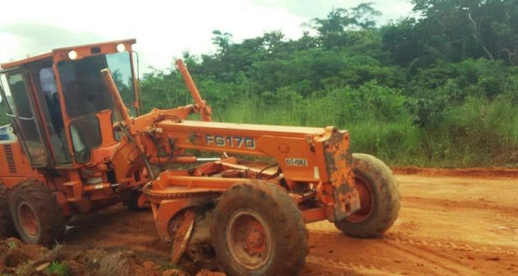 Prefeitura de Aripuanã intensifica os serviços de manutenção em estradas e pontes
