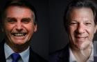 Bolsonaro e Haddad disputam a Presidência no segundo turno