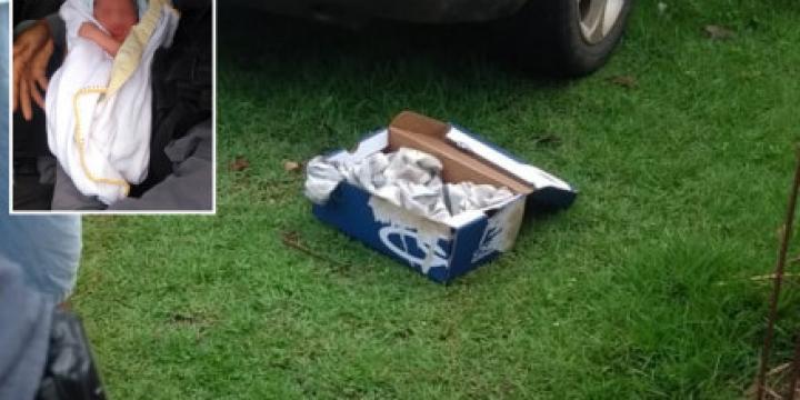 Recém-nascido é encontrado dentro de caixa de sapato em Cuiabá