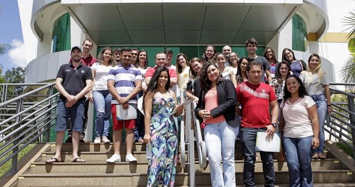 Alunos do IFMT de Juína viajam 700 km para conhecerem o TCE