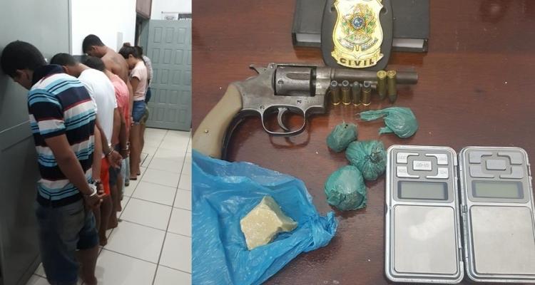 Polícia de Aripuanã prende grupo suspeito de pertencer ao Comando Vermelho