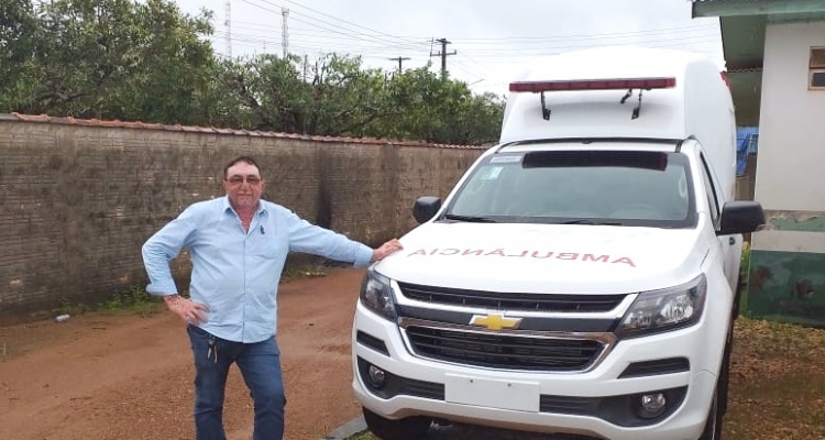Aripuanã: Vereador Tita da Morena agradece deputado Romoaldo por envio de emenda para compra de ambulância