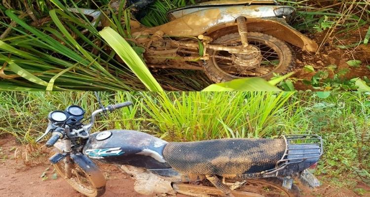 Polícia Militar localiza duas motocicletas abandonadas em Aripuanã