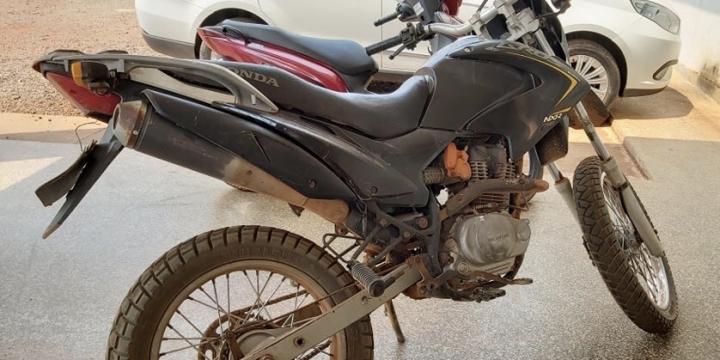 Polícia Civil recupera motocicleta furtada em Juína
