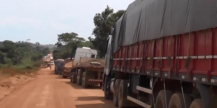 Trânsito na BR-174 entre Castanheira e Juruena volta a ser liberado