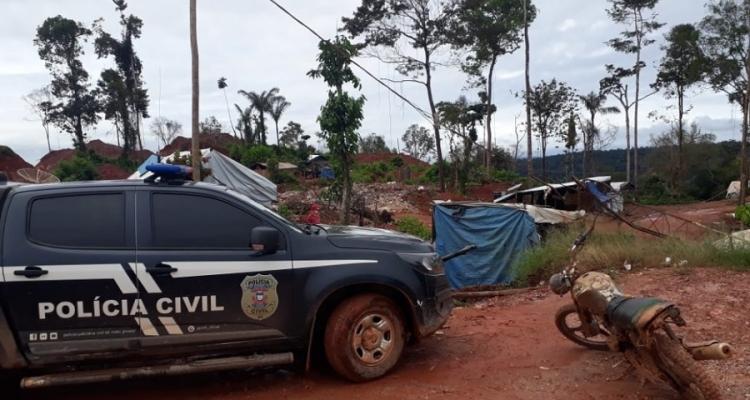 Mais uma pessoa é morta a tiros dentro do garimpo ilegal de Aripuanã