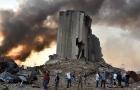 Explosão em Beirute provoca cratera de 43 metros de profundidade