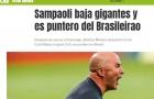Sampaoli, do Atlético, 'abate gigantes' no Brasileirão, diz jornal argentino