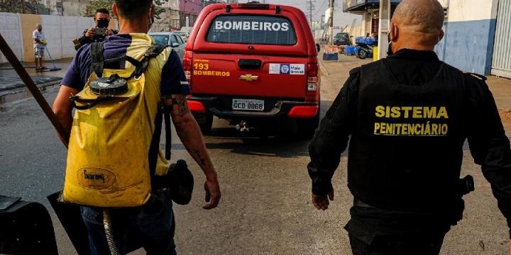 Emprego de presos como brigadistas deve ser ampliado para outras cidades em Mato Grosso