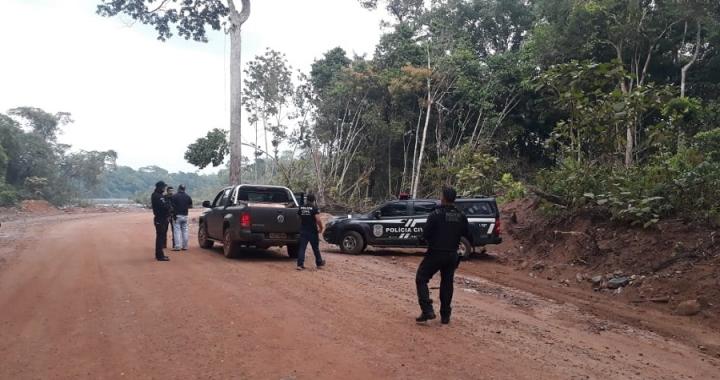 Forças de Segurança realizam mais uma operação integrada em Aripuanã e Colniza
