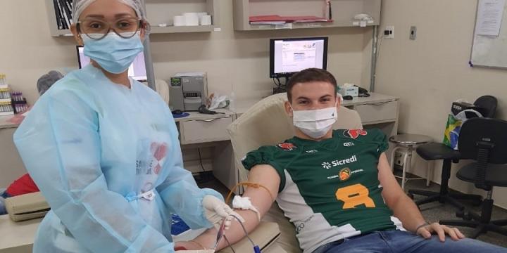 Campanha do Cuiabá Arsenal incentiva doação de sangue na capital