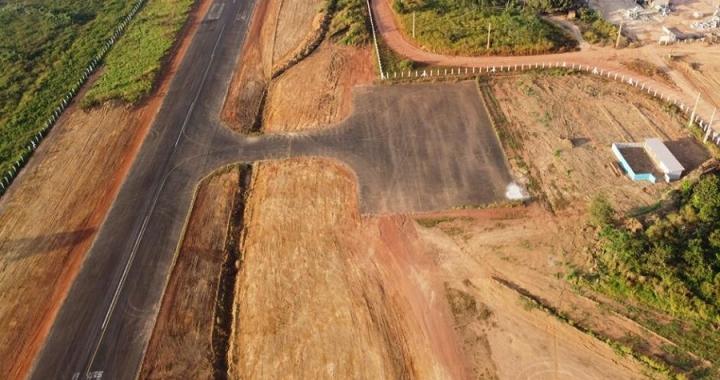 Ampliação e obras de reforma avançam no Aeródromo de Aripuanã