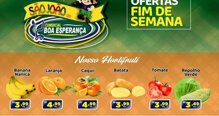 Aripuanã: Comercial Boa Esperança tem dois dias de ofertas especiais de São João